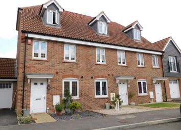 Thumbnail 3 bed end terrace house to rent in Orchard Close, Burgess Hill