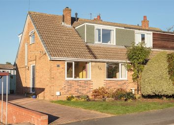 Thumbnail 4 bed semi-detached bungalow for sale in Rosedale, Rothwell, Leeds, West Yorkshire