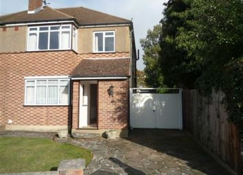Thumbnail 3 bed semi-detached house to rent in Grange Road, Orpington