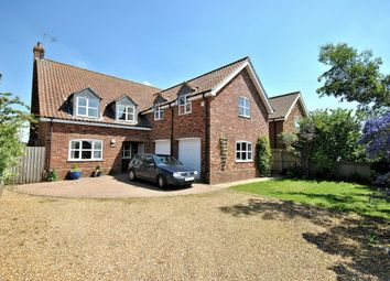 Thumbnail 5 bed detached house for sale in Congham Road, Grimston, King's Lynn