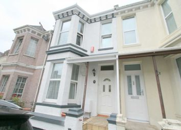 Thumbnail 3 bed terraced house for sale in Second Avenue, Stoke, Plymouth