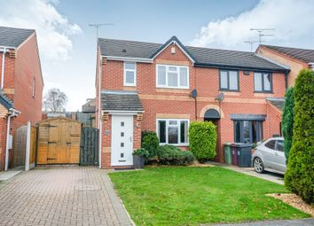 Thumbnail 3 bed town house for sale in Copenhagen Road, Clay Cross, Chesterfield