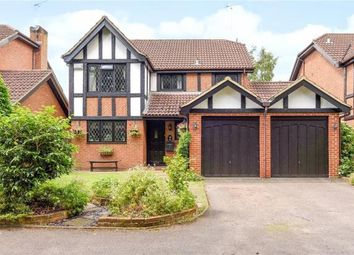 Thumbnail 4 bed detached house for sale in Hillsborough Court, Sandy Lane, Farnborough