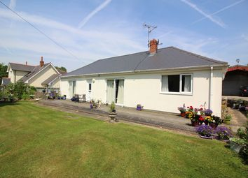 Thumbnail 4 bed detached bungalow for sale in Ayr-Y-Bryn, Llanover, Abergavenny