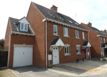 Thumbnail 4 bed town house to rent in Hanson Gardens, Bishops Cleeve, Cheltenham