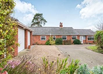 Thumbnail 4 bed bungalow for sale in Saxlingham Nethergate, Norwich, Norfolk