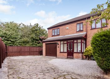 Thumbnail 4 bed semi-detached house to rent in Deanwater Close, Birchwood, Warrington