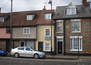 Thumbnail 1 bedroom terraced house to rent in Bury St. Edmunds