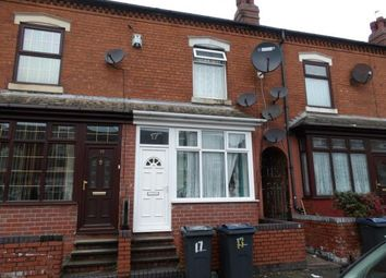 Thumbnail 2 bed terraced house for sale in Henshaw Road, Small Heath, Birmingham, West Midlands