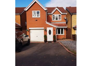 Thumbnail 3 bed detached house for sale in Harvester Close, Leicester