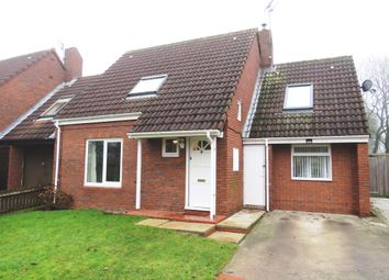Thumbnail 4 bed link-detached house for sale in White Cross Way, Full Sutton, York