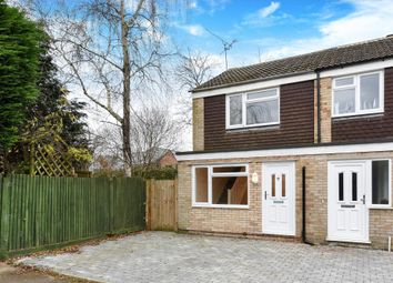 Thumbnail 2 bedroom end terrace house for sale in Hutsons Close, Wokingham