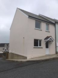 Thumbnail 3 bed end terrace house to rent in Cae Gerddi, Goodwick