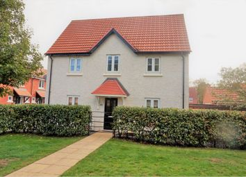 Thumbnail 3 bed detached house for sale in Pach Way, Fernwood Village, Newark