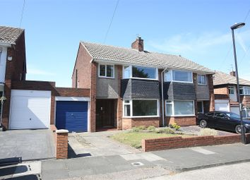 Thumbnail 3 bed semi-detached house for sale in Seatonville Road, Whitley Bay