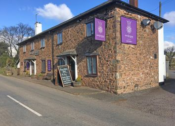 Thumbnail Pub/bar for sale in The Rose & Crown, Rackenford Road, Calverleigh, Tiverton, Devon