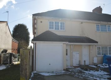Thumbnail 2 bed semi-detached house to rent in Broadway, Hednesford Cannock
