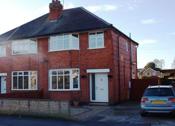 Thumbnail 3 bed semi-detached house to rent in Warwick Road, Balderton, Newark
