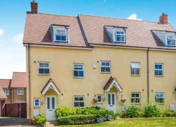 Thumbnail 4 bed end terrace house to rent in Lupin Close, Wymondham