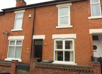 Thumbnail 2 bedroom terraced house for sale in Molineux Street, Derby