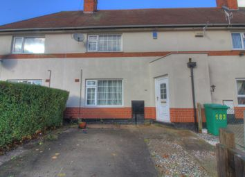 Thumbnail 2 bed terraced house for sale in Longford Crescent, Bulwell, Nottingham