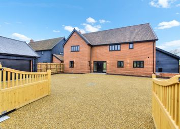 Thumbnail 4 bed detached house for sale in Lower Farm Drive, Ixworth, Bury St. Edmunds
