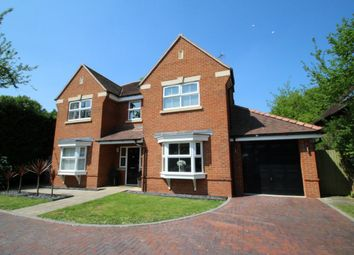 Thumbnail 5 bedroom detached house for sale in Birch Lane, Mortimer Common