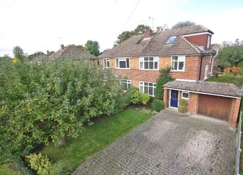 Thumbnail 4 bed semi-detached house for sale in Lechford Road, Horley, Surrey
