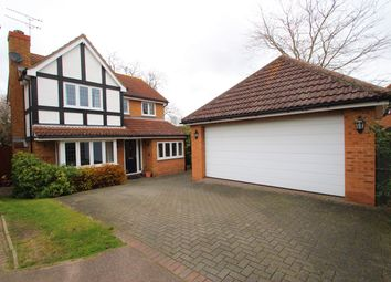 Thumbnail 4 bed detached house for sale in Houghton Place, Rushmere St Andrew, Ipswich