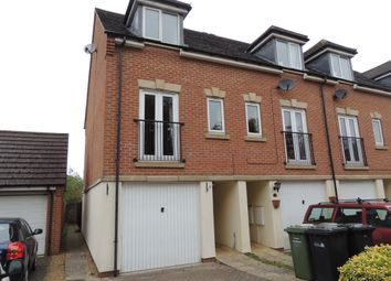 Thumbnail 3 bed town house to rent in Rosemary Way, Downham Market