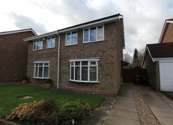 Thumbnail 3 bed semi-detached house to rent in Lintly, Wilnecote, Tamworth