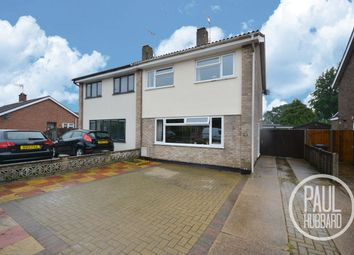 Thumbnail Semi-detached house for sale in Gorleston Road, Oulton Broad, Lowestoft