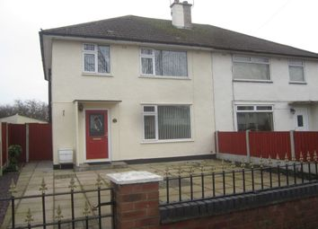 Thumbnail 3 bedroom semi-detached house to rent in Lime Tree Avenue, Crewe