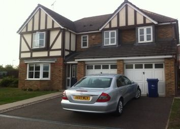 Thumbnail 5 bed detached house to rent in Forest Edge Way, Horninglow, Burton-On-Trent