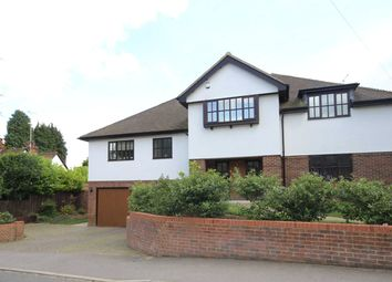 Thumbnail 5 bed detached house for sale in Moreton End Lane, Harpenden, Herts