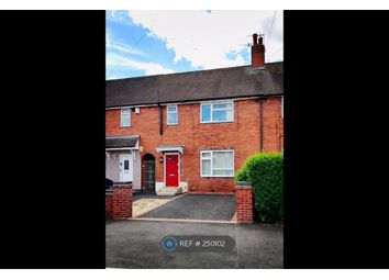 Thumbnail 3 bedroom terraced house to rent in St Bernard's Road, Stoke On Trent