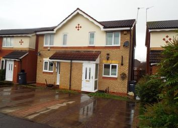 Thumbnail 2 bedroom semi-detached house for sale in Grimston Close, Leicester