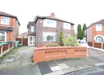 Thumbnail 2 bedroom semi-detached house to rent in Balmoral Avenue, Stretford, Manchester
