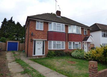 Thumbnail 3 bed semi-detached house for sale in Belmont Close, Farnborough