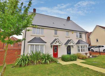 Thumbnail 3 bedroom semi-detached house for sale in Franklin Drive, Elsenham, Bishop's Stortford, Hertfordshire