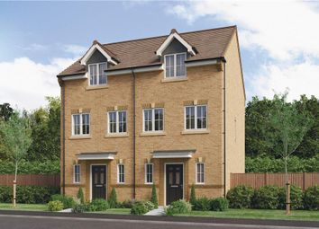 "Thumbnail 3 bedroom town house for sale in ""The Hardwicke"" at Parkside, Hebburn"