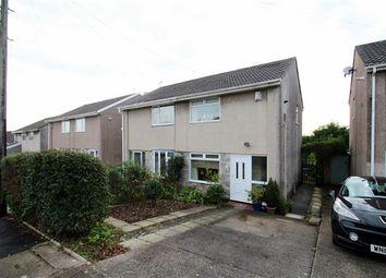 Thumbnail 2 bed semi-detached house to rent in Heol Seward, Beddau, Pontypridd