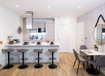 Thumbnail 1 bedroom flat to rent in Porters Edge At Water Yards, Canada Water, London