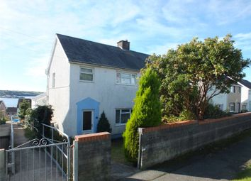 Thumbnail 4 bed semi-detached house for sale in Cleddau Avenue, Neyland, Milford Haven