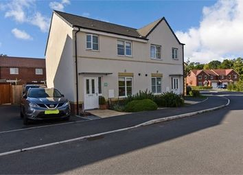 3 bed semi-detached house for sale in Cowslip Crescent, Hele Park, Newton Abbot, Devon. TQ12