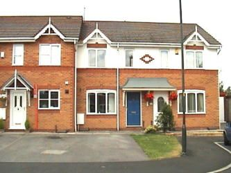 Thumbnail 2 bed terraced house to rent in Hartswell Close, Golborne