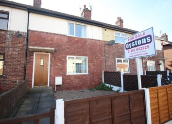 Thumbnail 2 bed terraced house for sale in Leaford Avenue, Blackpool