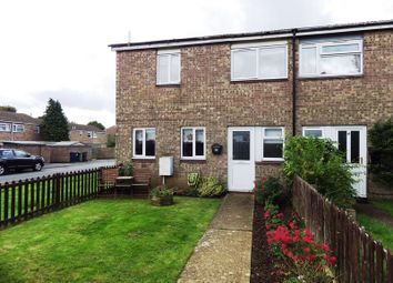Thumbnail 3 bedroom end terrace house to rent in Viscount Court, Eaton Socon, St Neots
