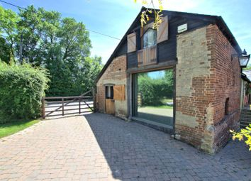 Thumbnail 1 bed semi-detached house to rent in The Red Barn, Clare Farm, Main Street, Caldecote