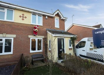 Thumbnail 3 bed semi-detached house for sale in Wheat Close, Daventry, Northamptonshire